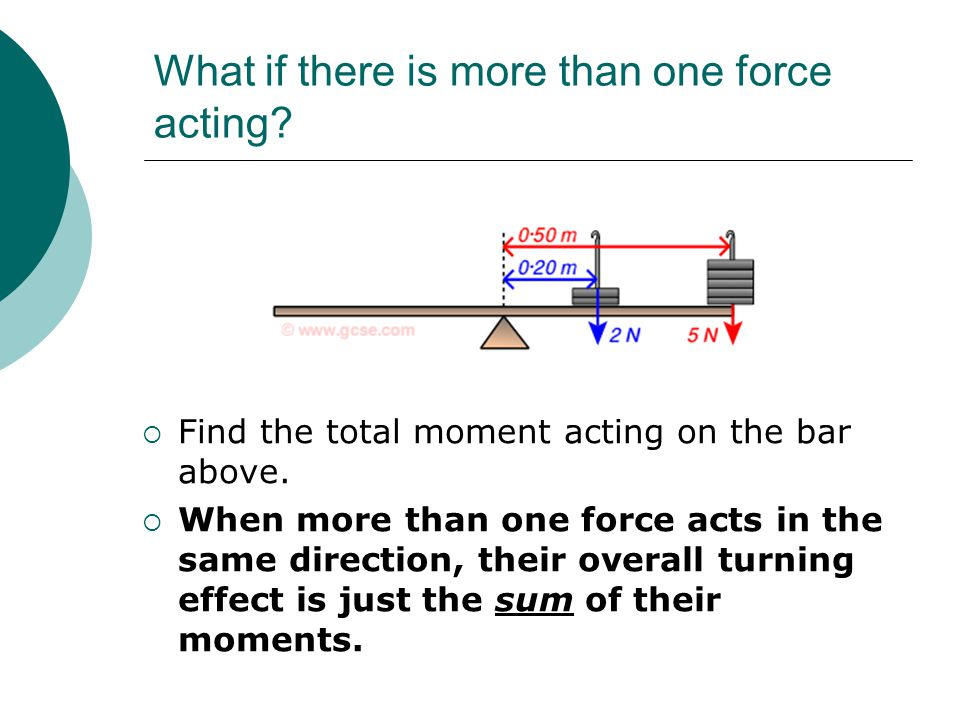Moments and Turning Forces  The Lifting Challenge  Who is