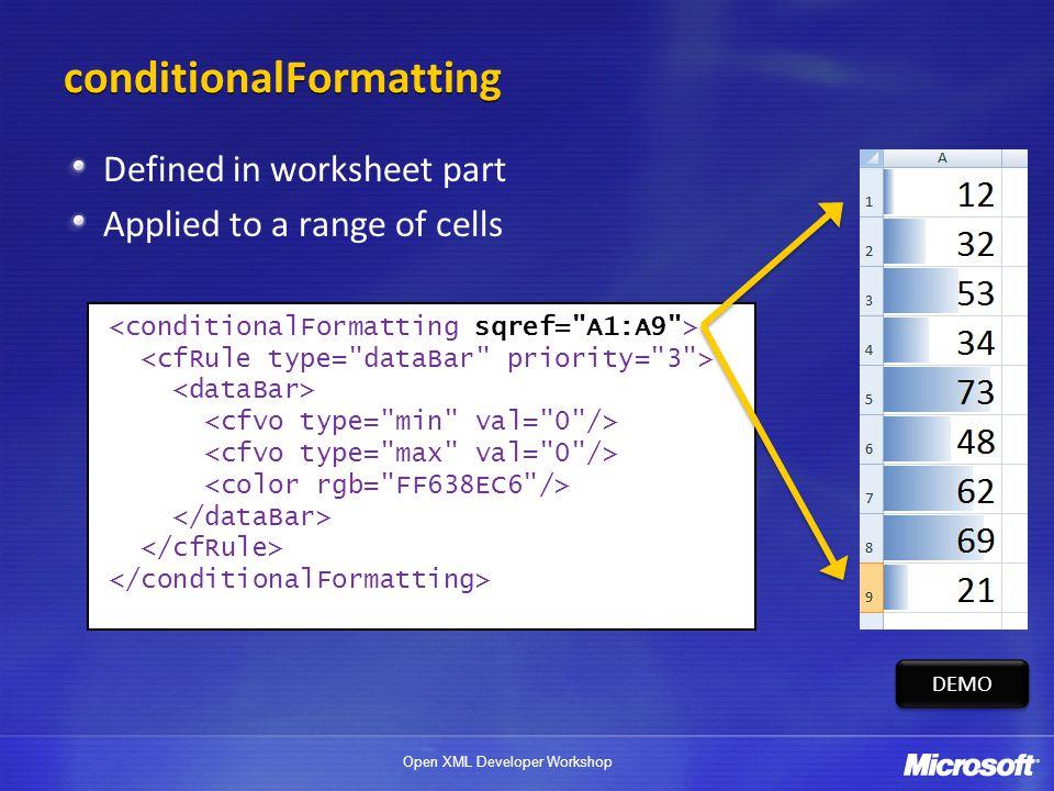 Open XML Developer Workshop SpreadsheetML Advanced  - ppt download