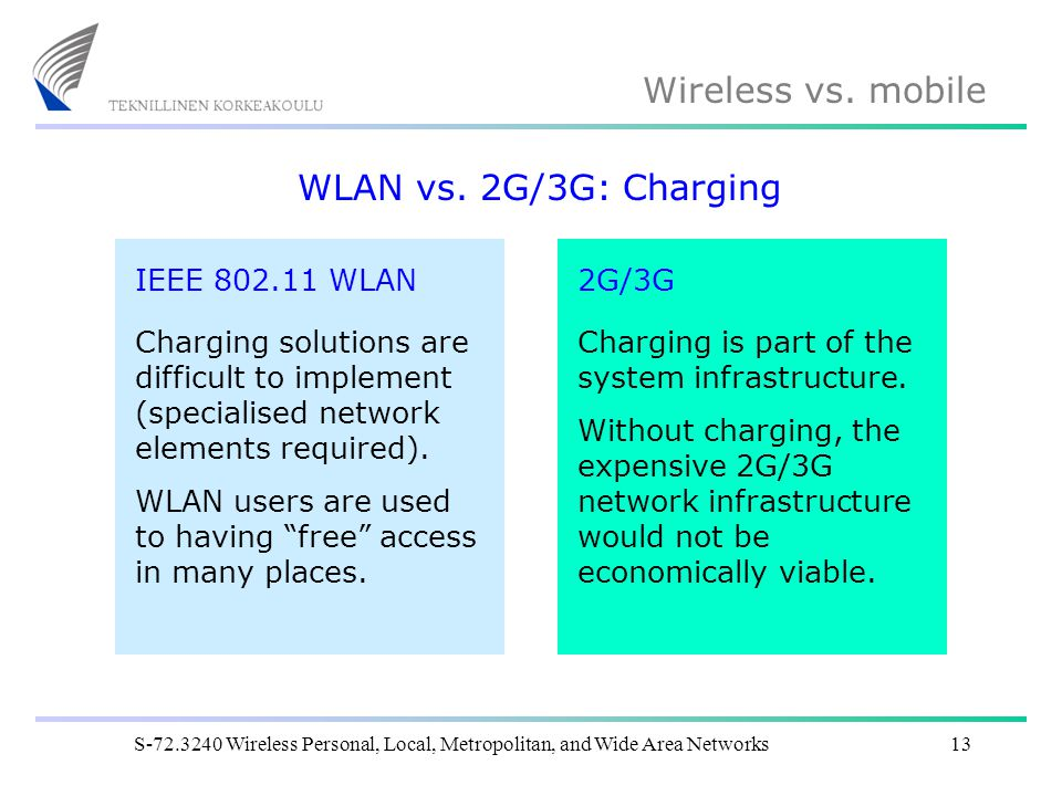 Wireless vs.