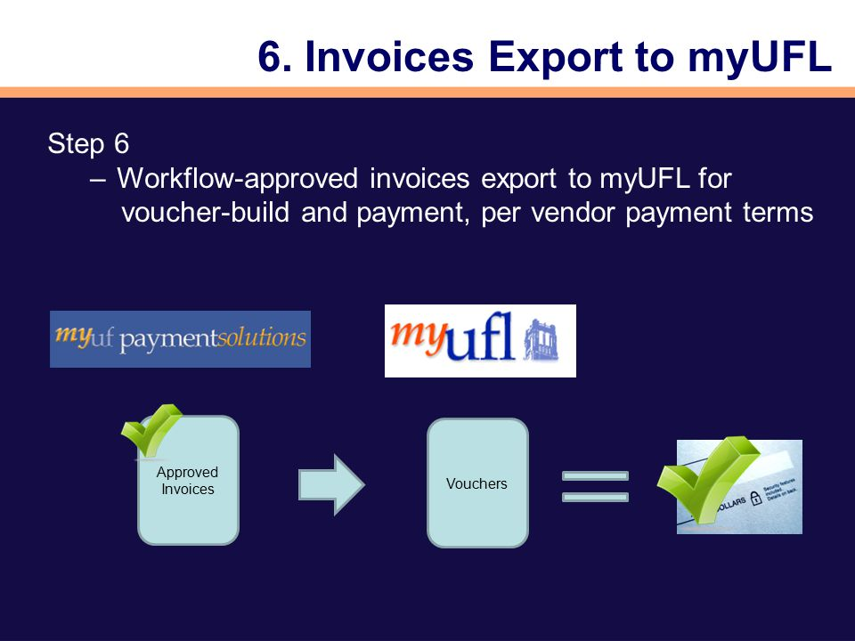 MyUF Payment Solutions In partnership with UF Disbursement