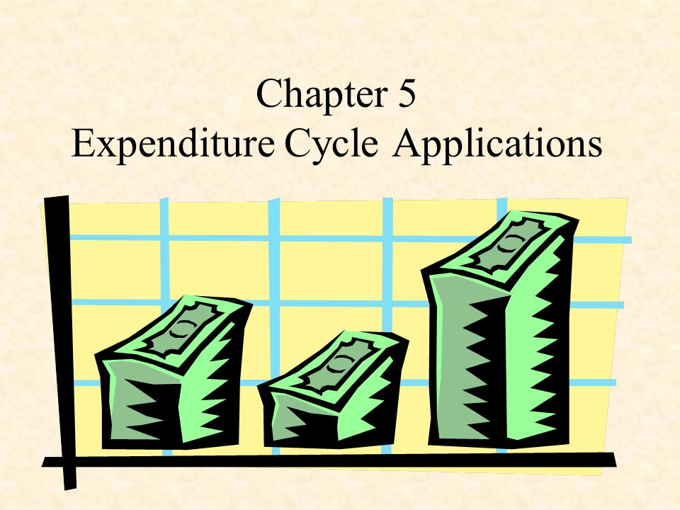 Chapter 5 Expenditure Cycle Applications