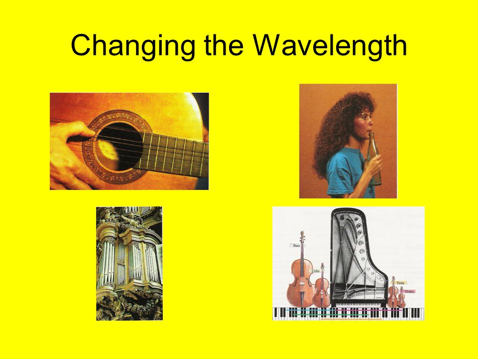 Changing the Wavelength