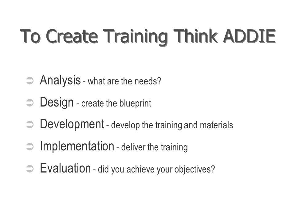 Designing effective training train the trainer series day two an 3 to malvernweather Image collections