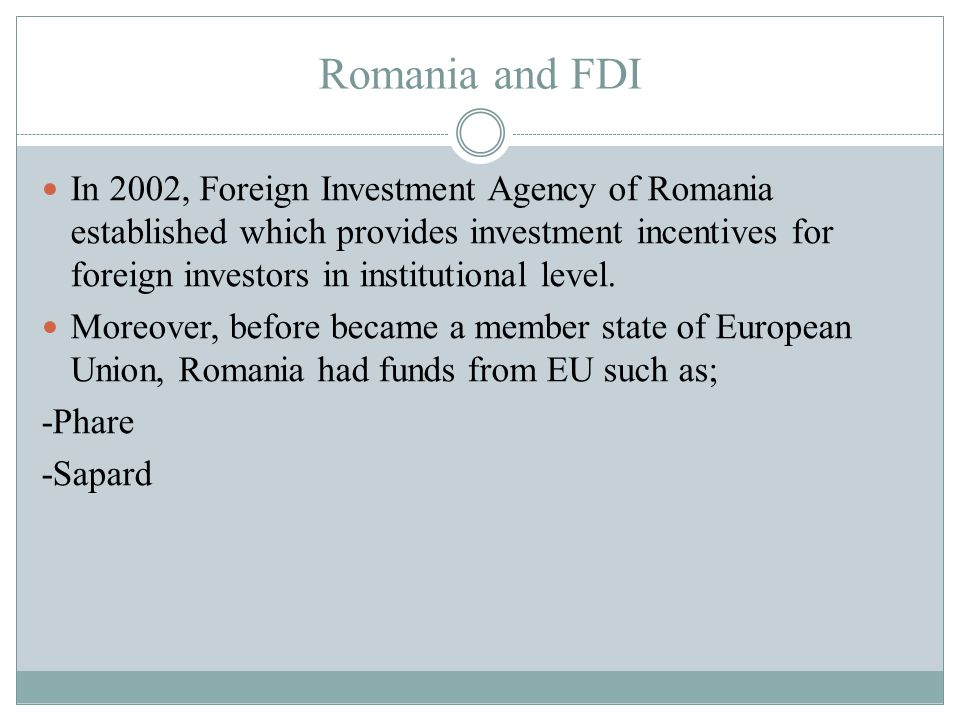 Romania investment incentives farmakonomforeningen pension and investments
