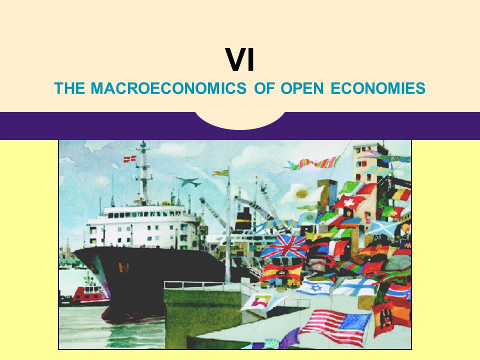 VI THE MACROECONOMICS OF OPEN ECONOMIES
