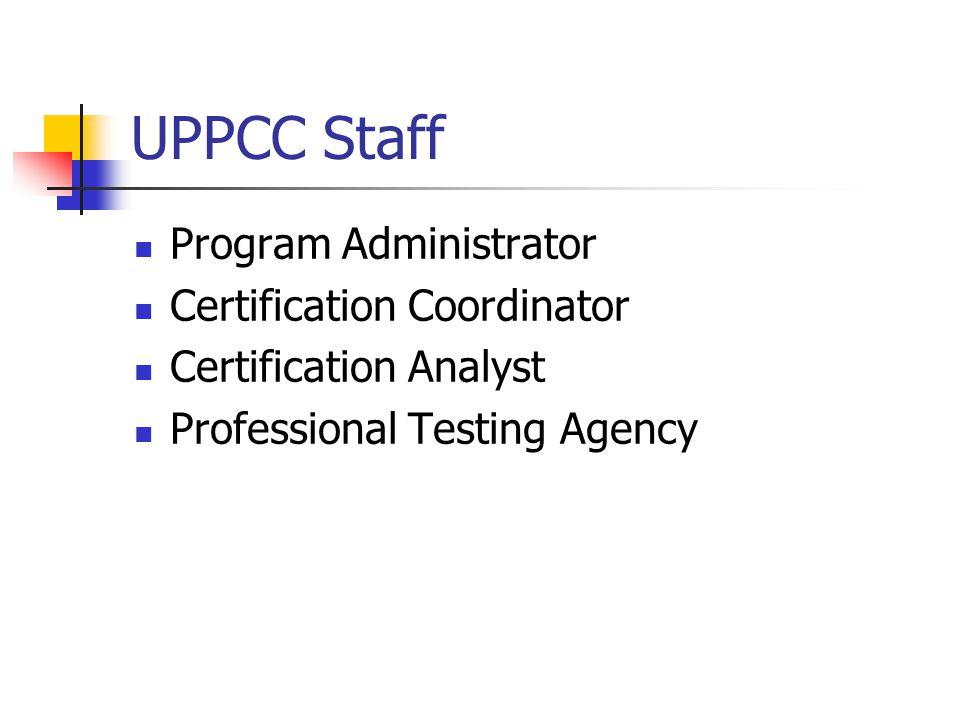 Universal Public Purchasing Certification Council Uppcc