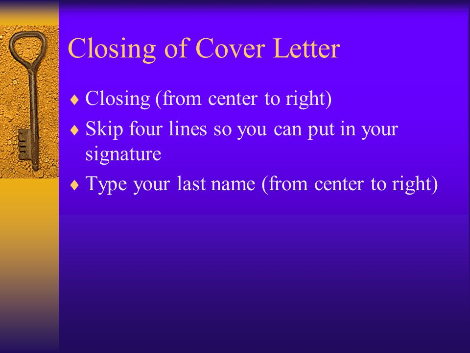 Creating A Cover Sheet When To Use A Cover Letter Applying For A