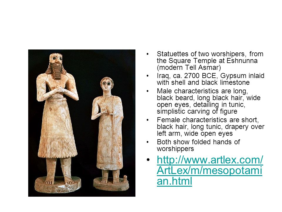 statuettes of worshipers