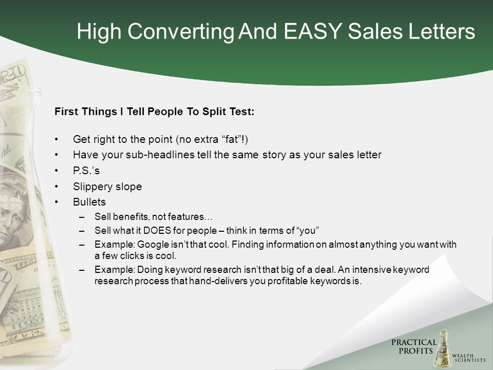 Discover How To Churn Out Sales Letters That Convert As High As 32