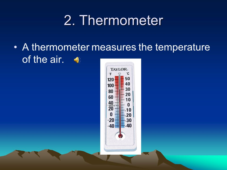 Meteorologist A Is Scientist Who Studies And Measures Weather Conditions