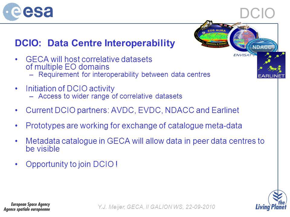 Y J  Meijer, GECA, II GALION WS, Data Centre Inter