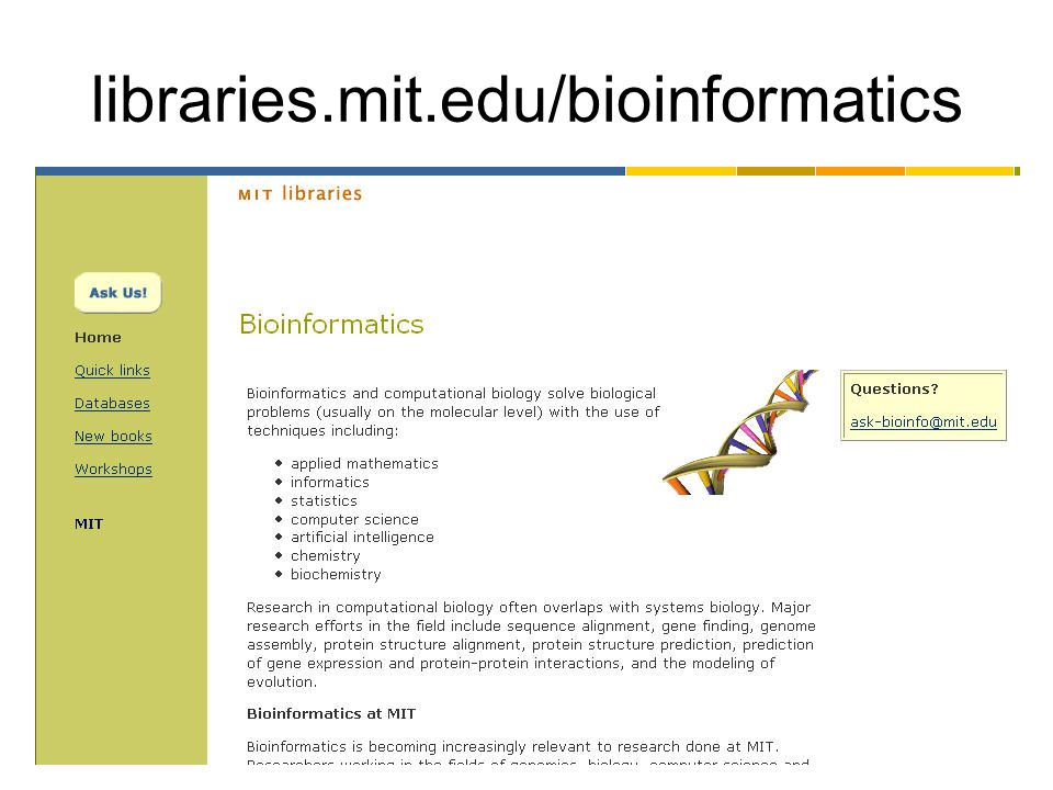 libraries.mit.edu/bioinformatics