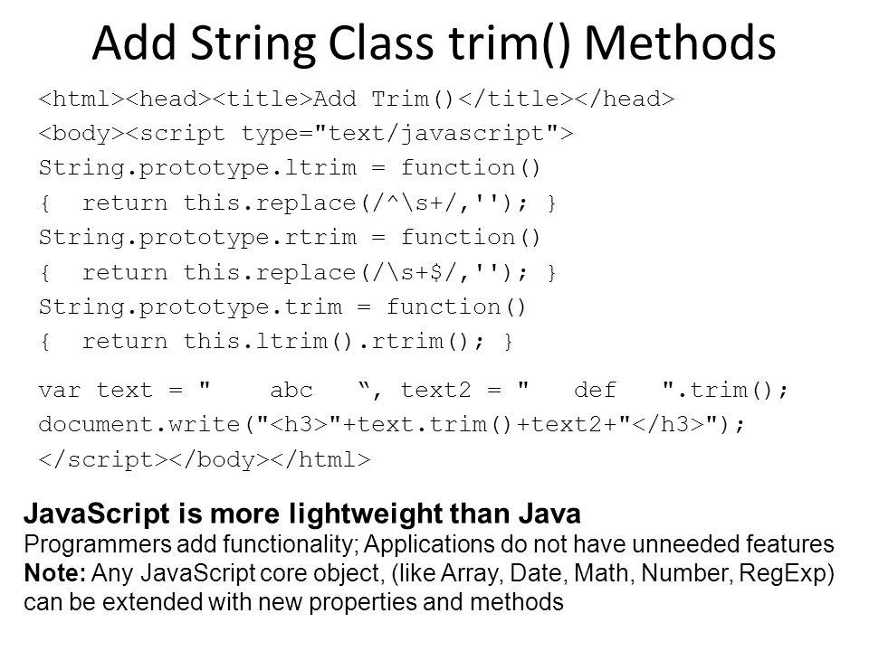 JavaScript Original name: Mocha/LiveScript for Netscape Browsers