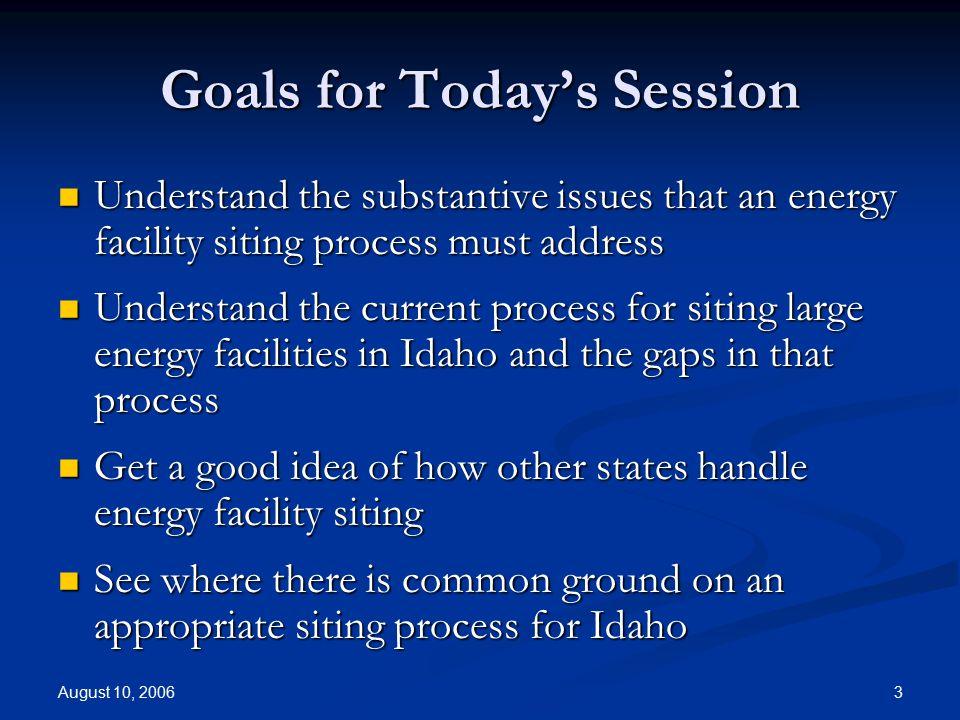 Energy Facility Siting Options for Idaho Arne Olson Energy