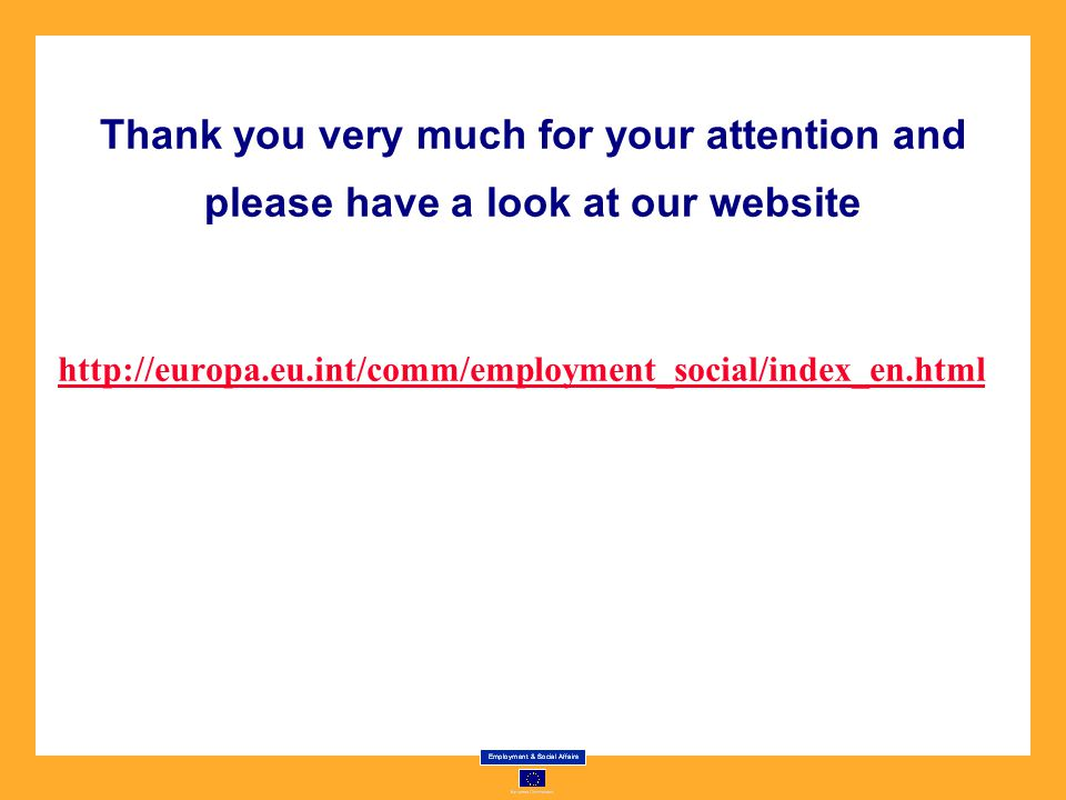Thank you very much for your attention and please have a look at our website