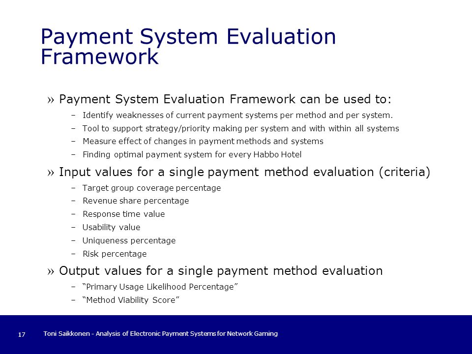 research methodology of electronic payment system