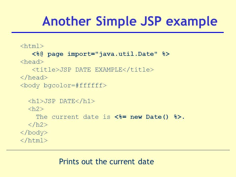 Dt228/3 web development introduction to java server pages (jsp.