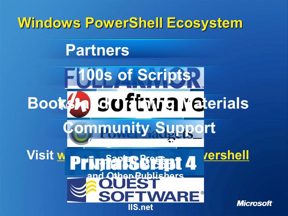 MGT305 Windows PowerShell Next Generation Command Line