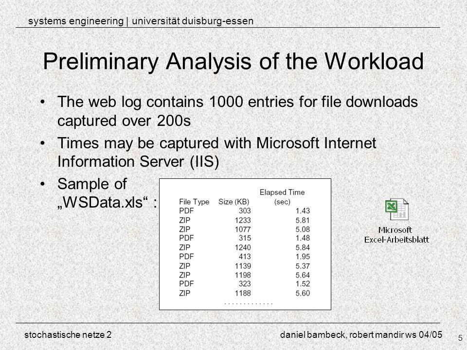 Systems engineering | universität duisburg-essen stochastische netze ...