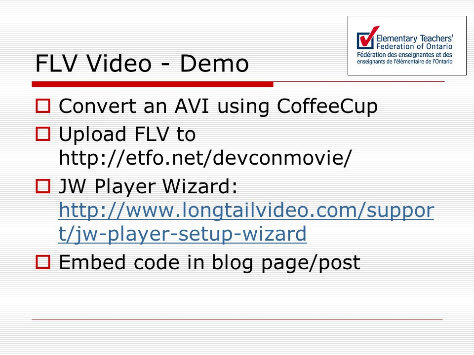 Using Open-Source Blogs (and other Low-Cost Tools) to Create Video