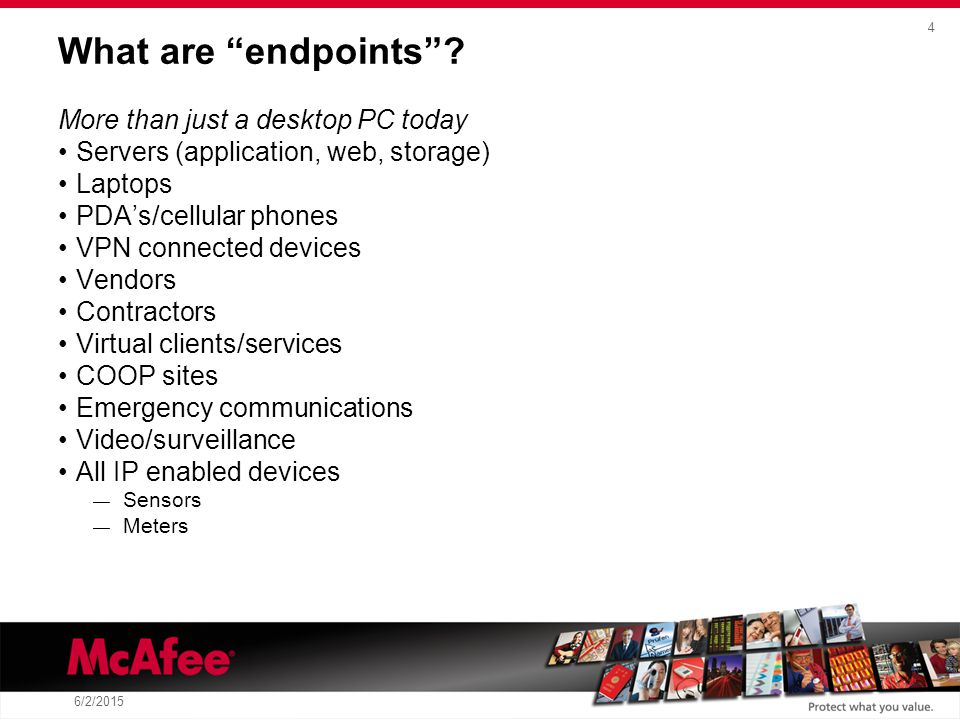 4 6/2/2015 What are endpoints .