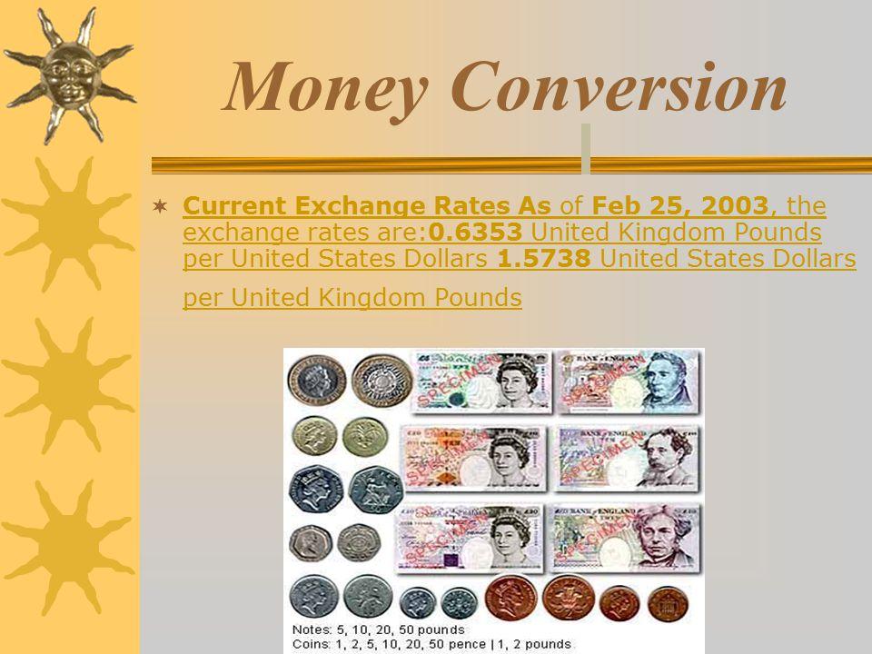 4 Money Conversion