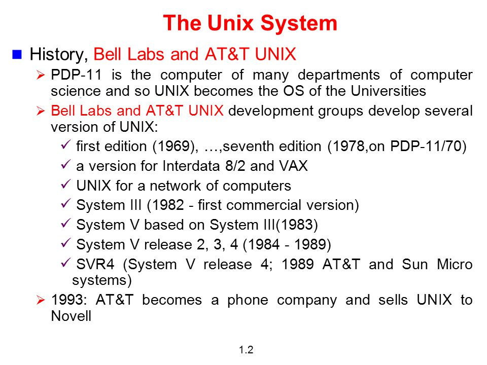 some beneficial features of the unix operating system Proprietary unix operating systems (and unix-like variants) run on a wide variety of digital architectures, and are commonly used on web servers, mainframes, and supercomputers in recent years, smartphones, tablets, and personal computers running versions or variants of unix have become increasingly popular.