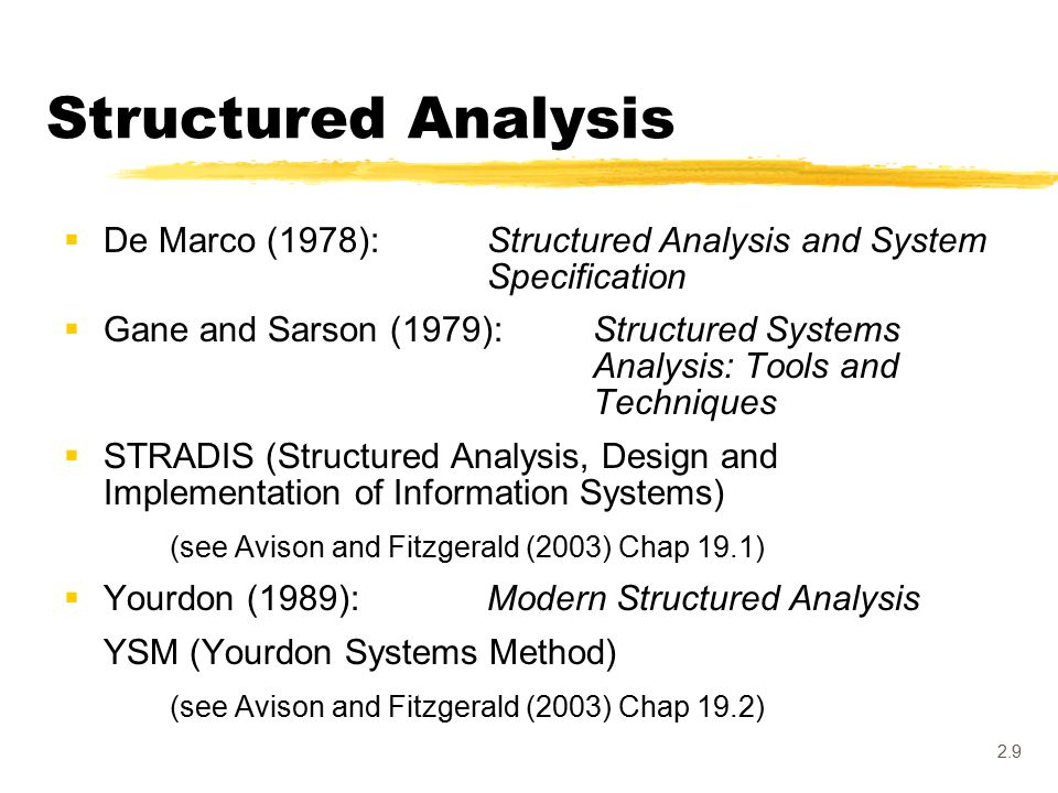2 1 The Traditional Sdlc And Structured Approaches Structured Analysis Ims Information Systems Development Practices Ppt Download