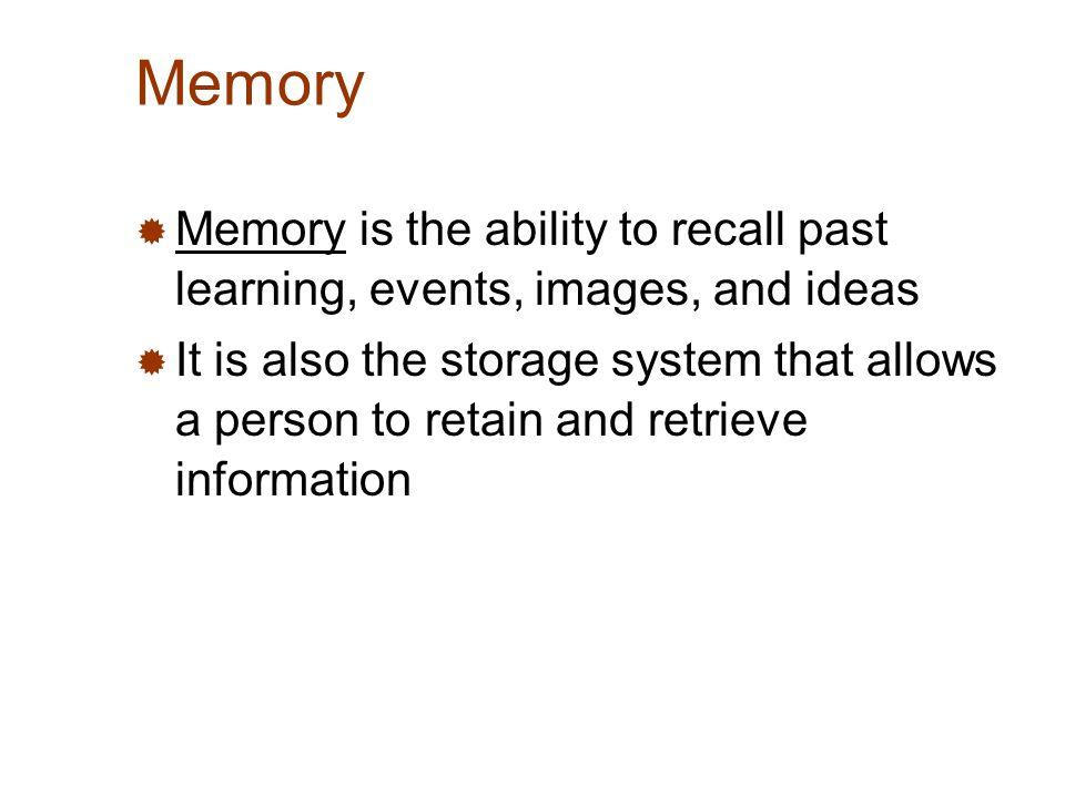 encoding memory