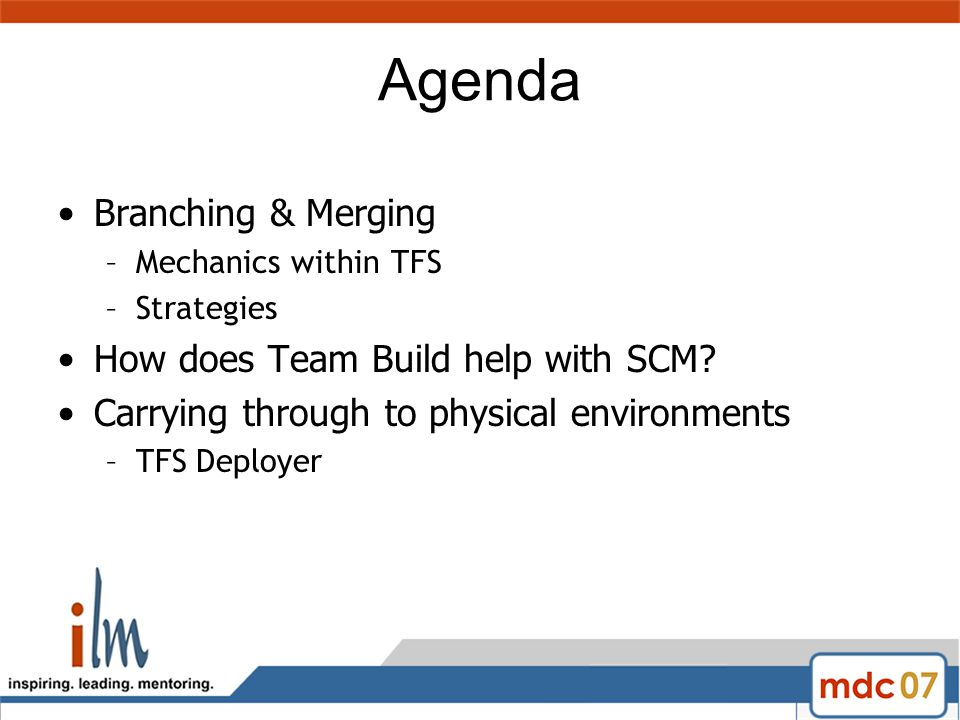 Release Management/SCM with TFS Scott Colestock Presented by