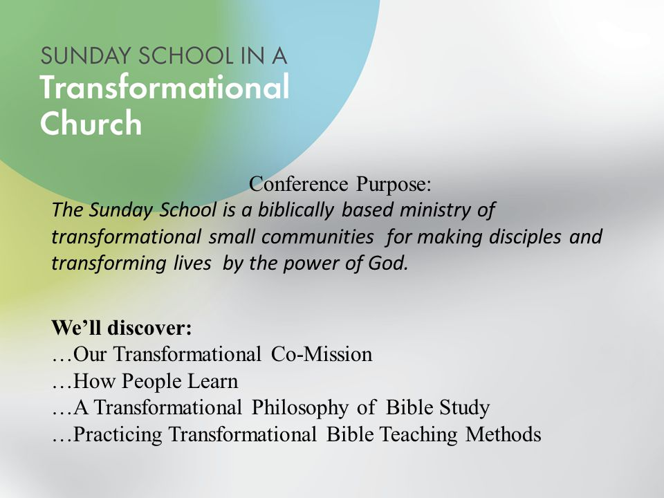 Transformational Bible Study Adult - Student Phil Stone