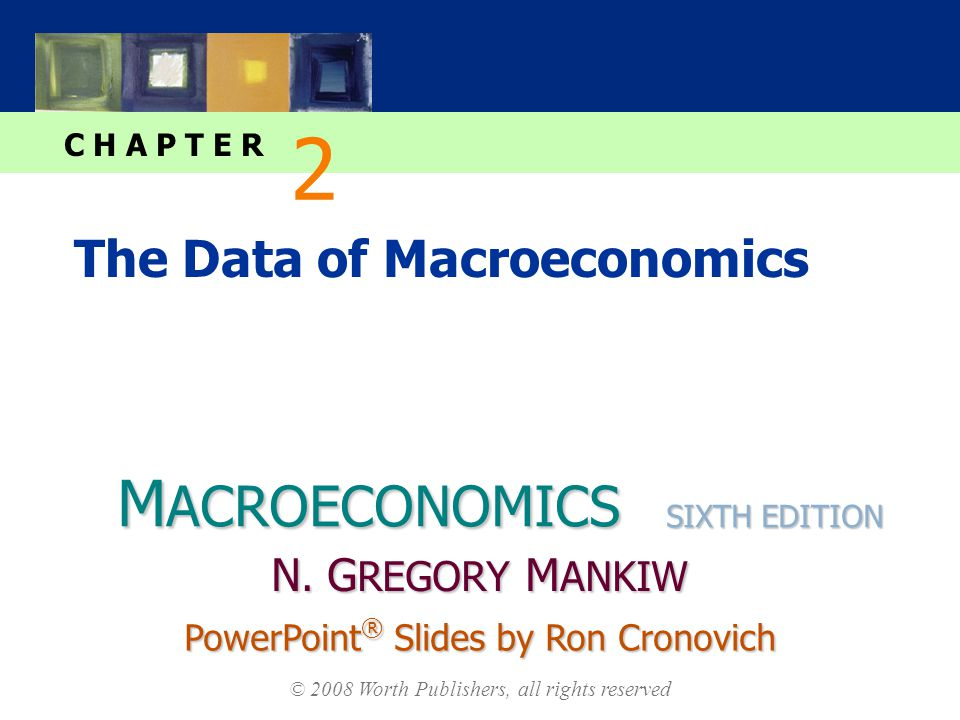 M ACROECONOMICS C H A P T E R © 2008 Worth Publishers, all rights reserved SIXTH EDITION PowerPoint ® Slides by Ron Cronovich N.