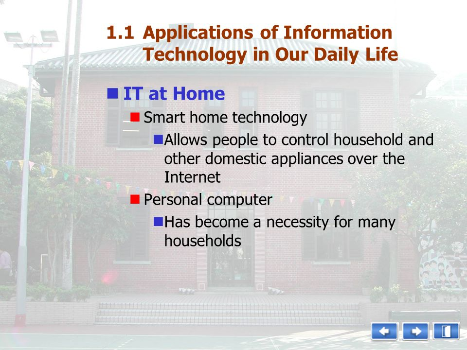 role of information technology in our daily life