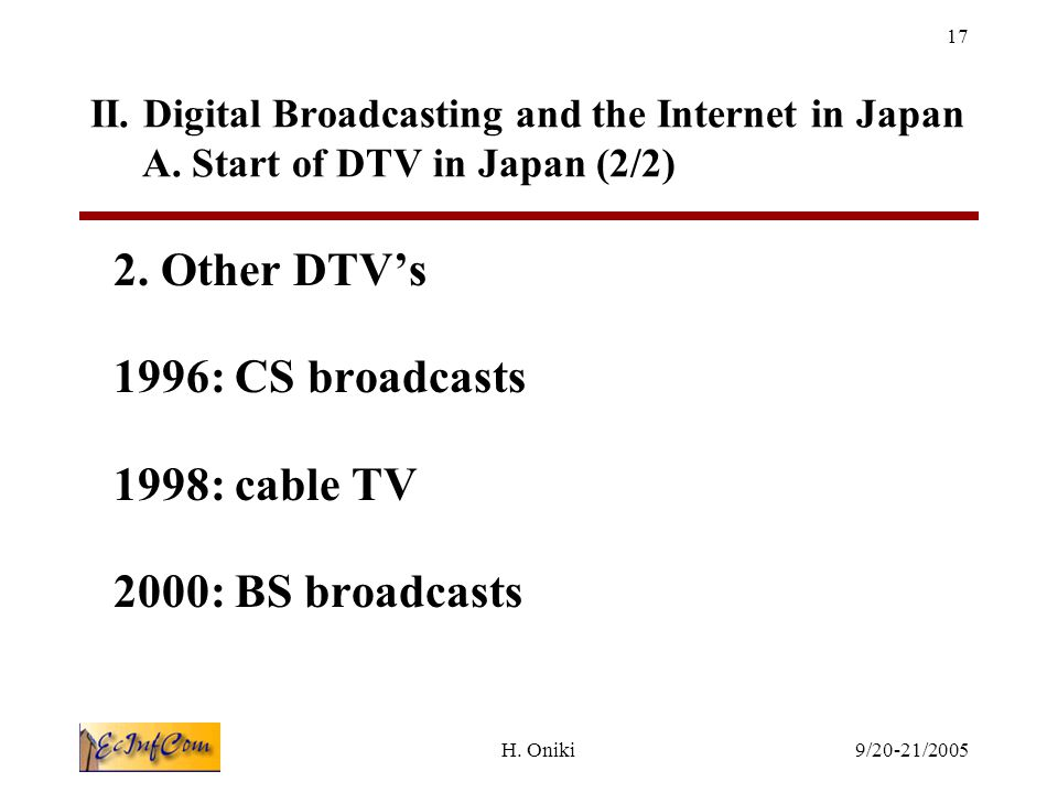 Cable Tv In Japan