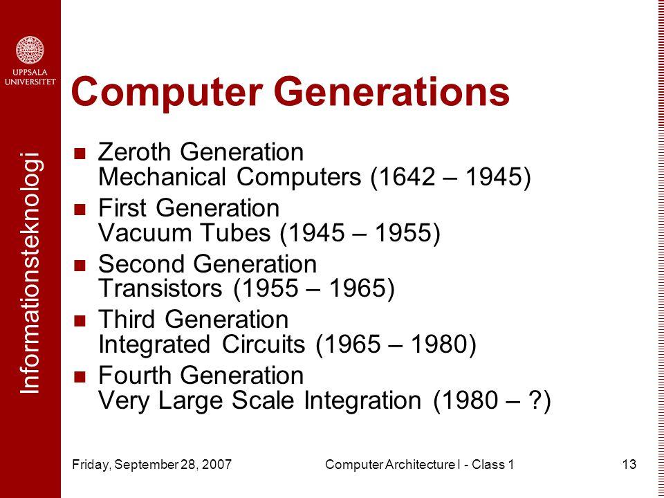 zeroth generation of computer