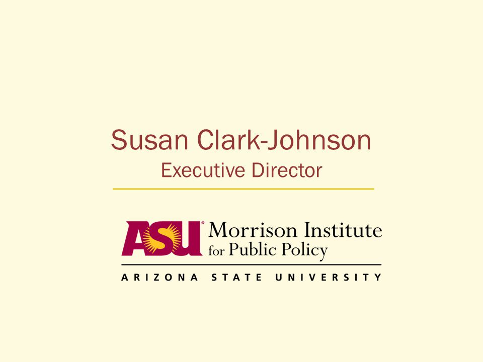 Susan Clark-Johnson Executive Director