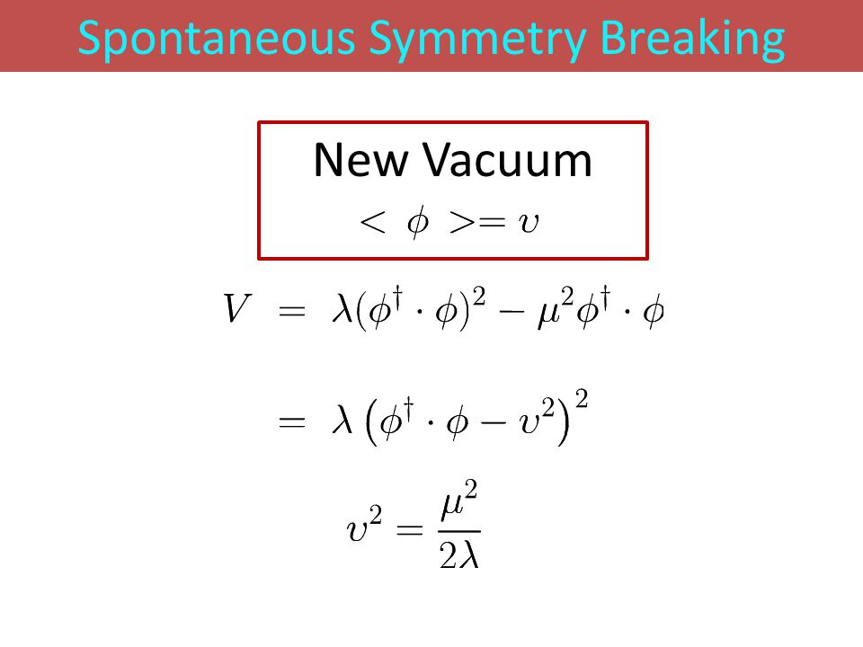 Spontaneous Symmetry Breaking New Vacuum