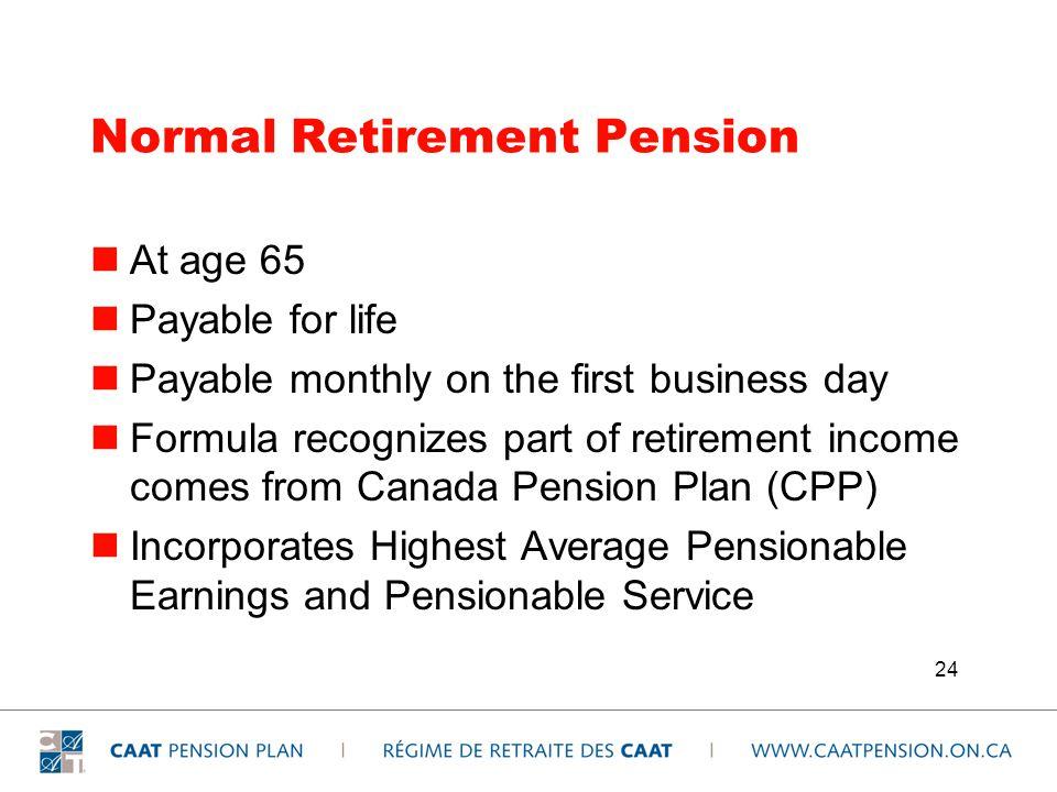 Régime de pensions du Canada – Aperçu