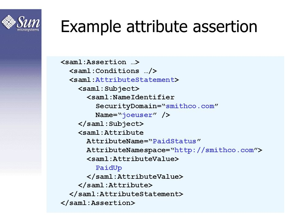 SAML basics A technical introduction to the Security
