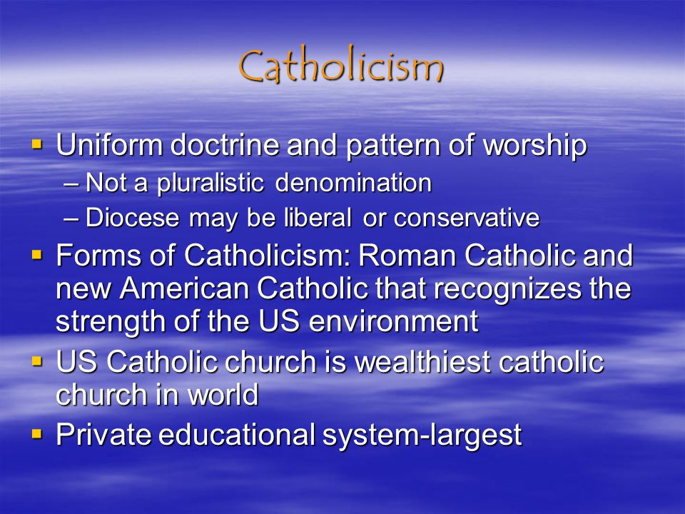 Religion And Culture In The United States Significant number