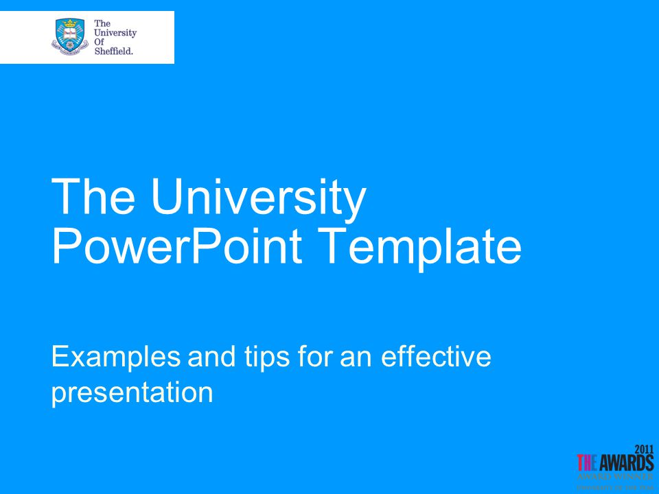 The university powerpoint template examples and tips for an 1 the university powerpoint template examples and tips for an effective presentation toneelgroepblik Image collections