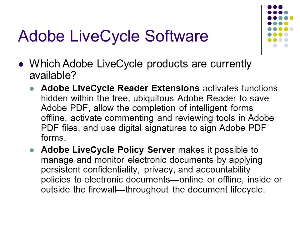 Adobe LiveCycle Document Security Theresia Devi Indriasari