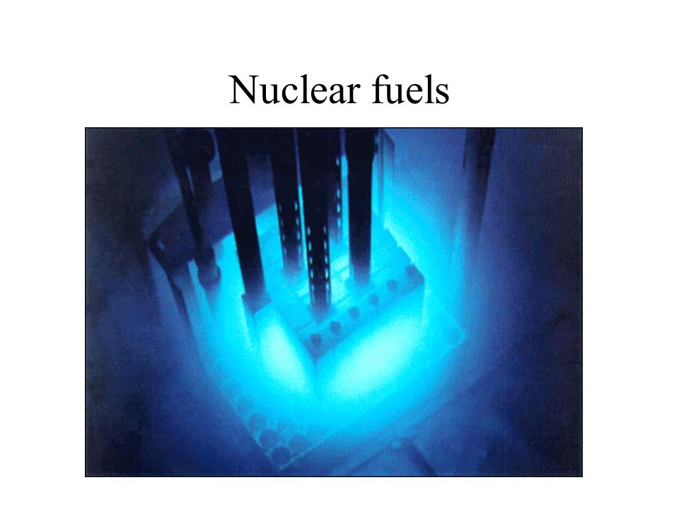 Nuclear fuels
