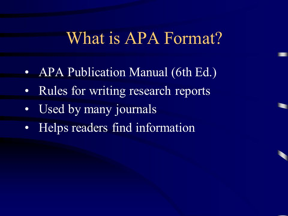 apa format what is apa format communicating research writing style