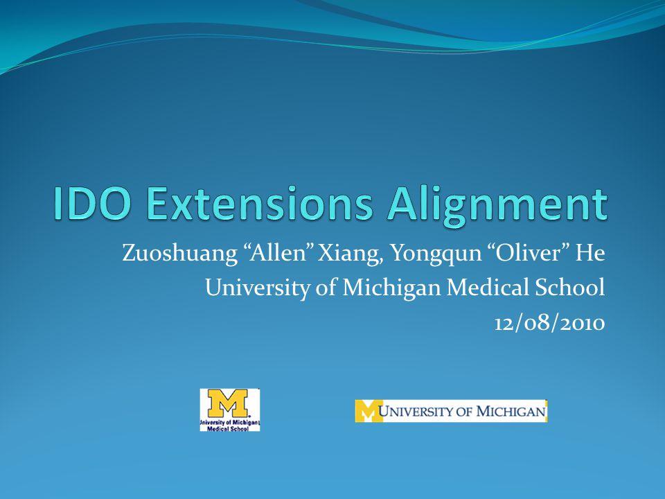 """Zuoshuang """"Allen"""" Xiang, Yongqun """"Oliver"""" He University of"""