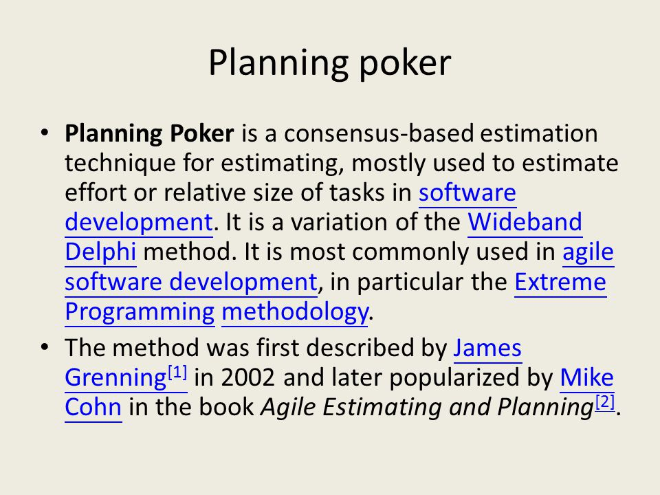 Planning poker estimation technique ppt history of procter and gamble in nigeria
