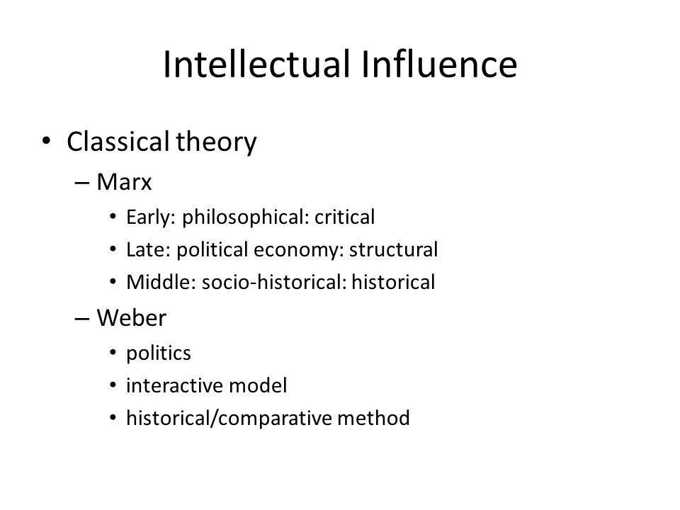 socio political theory of marxism