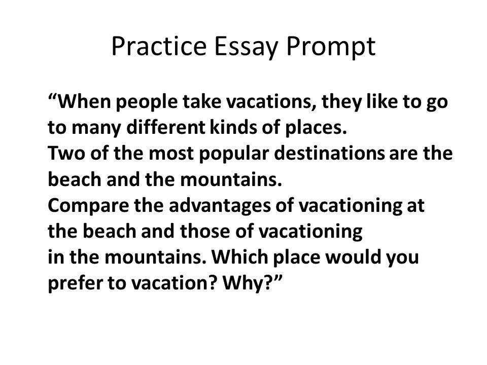 if i were a mountain essay