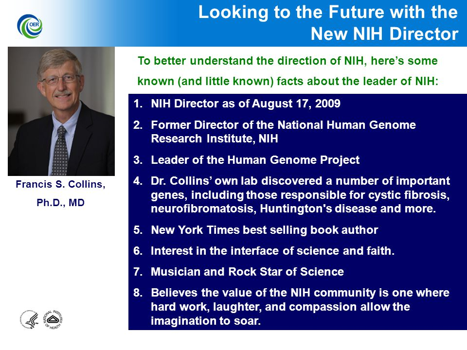 1 NIH Supports Biomedical and Behavioral Research Around the
