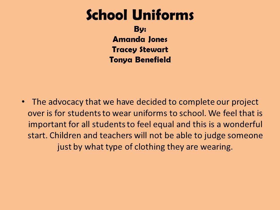 why should kids not wear school uniforms